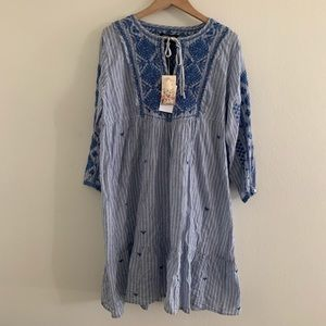 Johnny was tunic top dress